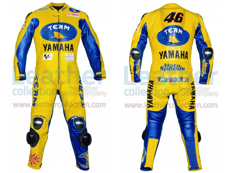 Valentino Rossi Yamaha MotoGP 2006 Racing Suit  https://www.leathercollection.com/en-we/valentino-rossi-yamaha-racing-suit.html  #Valentino_Rossi_Racing_Suit, #Valentino_Rossi_Yamaha_MotoGP_2006_Racing_Suit, #VR46_Racing_Apparel