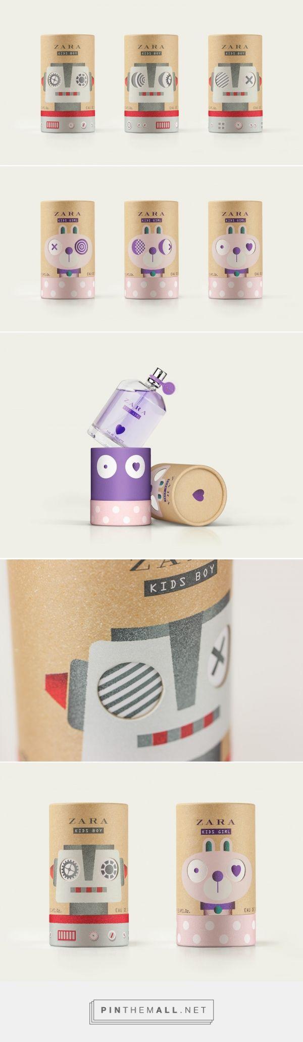Zara Kids Fragrance packaging design by Lavernia & Cienfuegos - http://www.packagingoftheworld.com/2017/05/zara-kids-fragrance.html