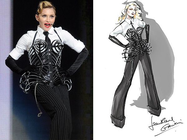 Жан-Поль Готье сделал костюмы для Мадонны   Журнал Cosmopolitan
