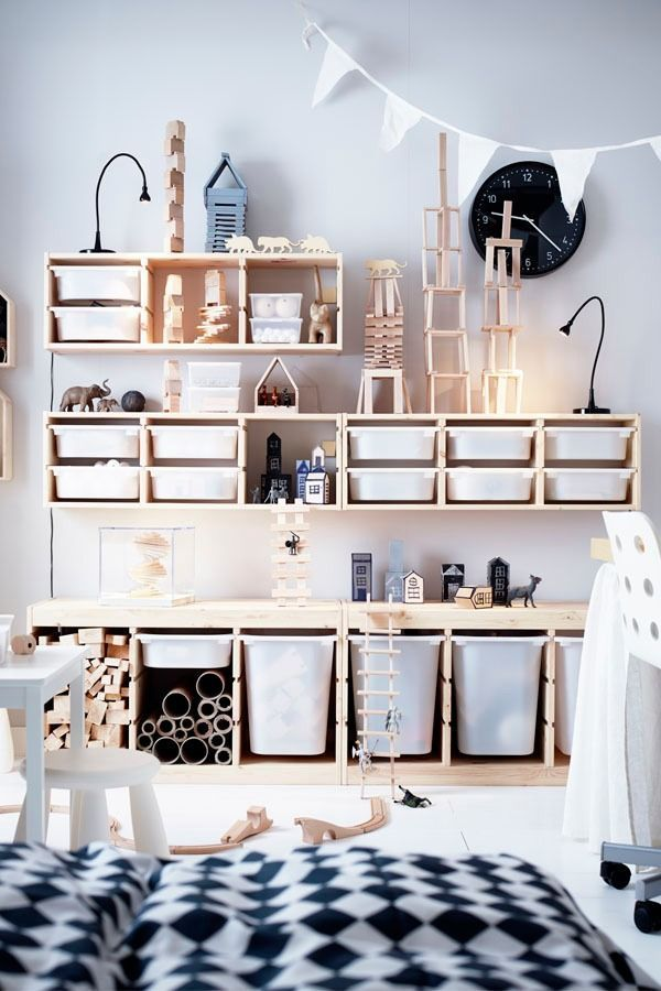Ikea Trofast Storage Combinations Are A Playful And Sturdy Storage