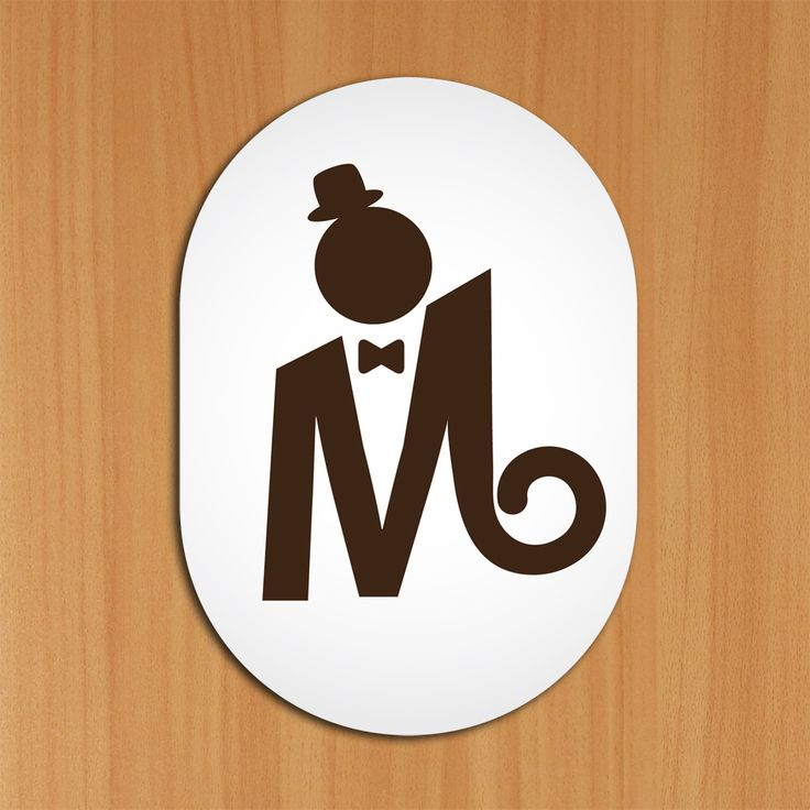 Bathroom Signs Male 17 best bathroom / toilet signs images on pinterest | toilet signs