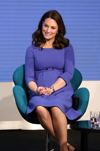 Kate Middleton Photos - Catherine, Duchess of Cambridge attends the first annual Royal Foundation Forum held at Aviva on February 28, 2018 in London, England. Under the theme 'Making a Difference Together', the event will showcase the programmes run or initiated by The Royal Foundation. - First Annual Royal Foundation Forum