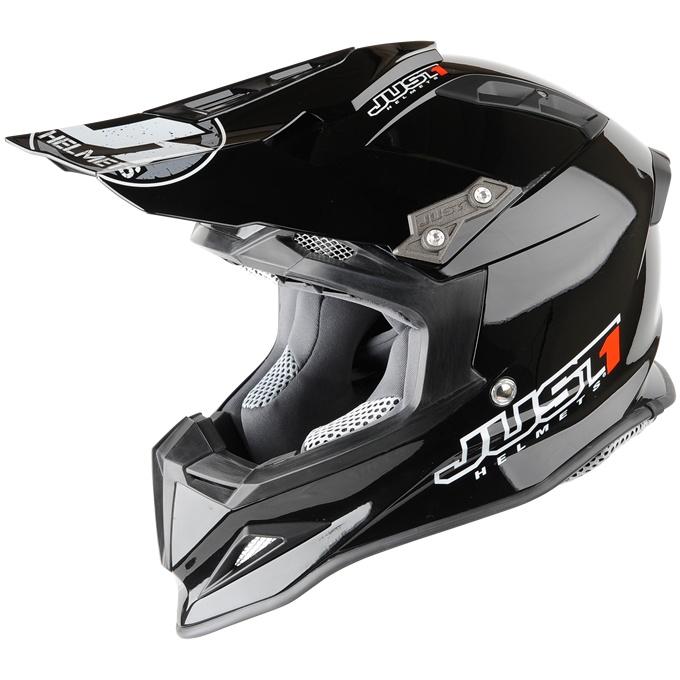 2013 Just 1 J12 Motocross Helmet - Black - Just 1 Motocross Helmets -  Motocross Helmets