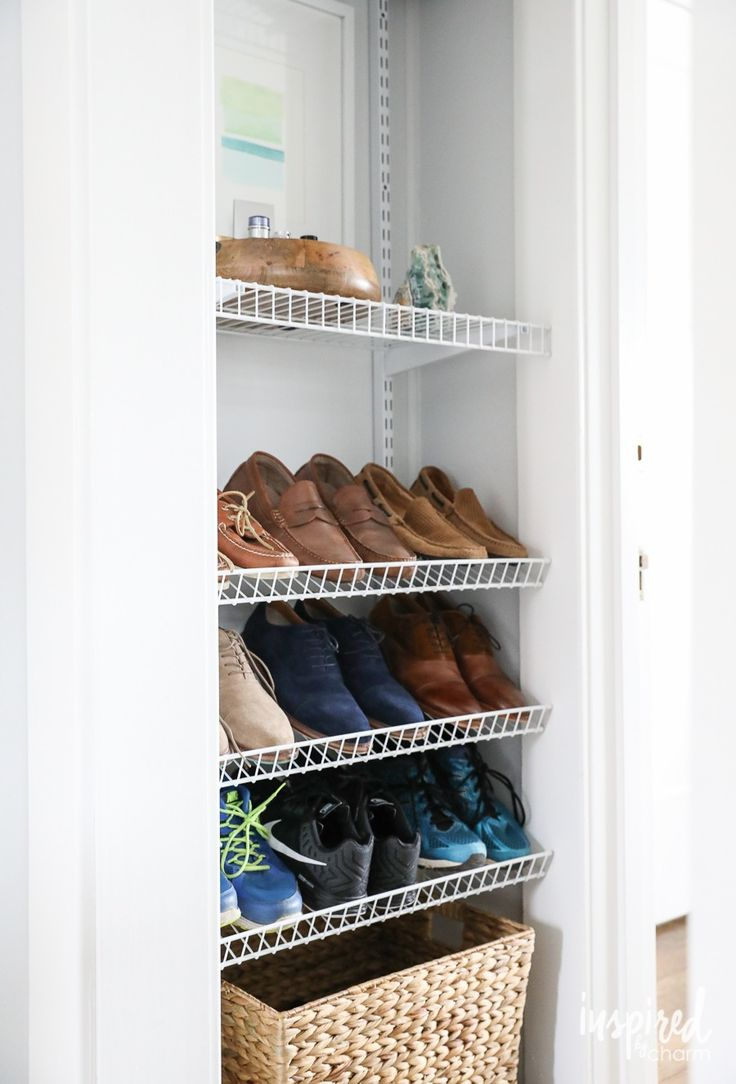 Shoe Storage Solutions 308 Best Get Organized Images On Pinterest