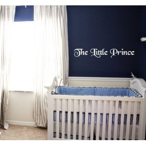 The Little Prince vinyl decal wall sayin