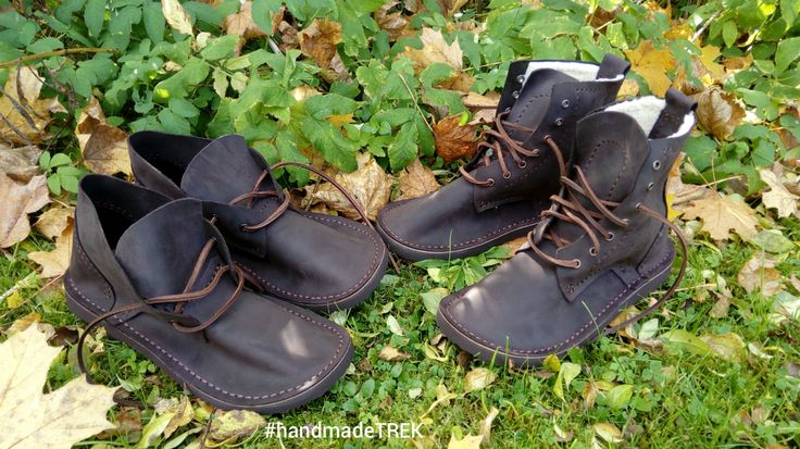 We are ready for the autumn - winter time. Handmade, natural leather shoes by TREK
