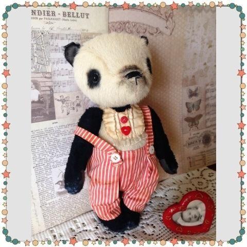 Panda bear Charlie. Author - Svetlana Mikhaylenko - http://arthandmade.net/mihailenko.svetlana Teddy, bear, Teddy bear, toy, gift, collectible toy, original gift, teddy artist, handmade, craft, тедди, мишка, мишка тедди, игрушка, коллекционная игрушка, подарок, оригинальный подарок, художник, ручная работа