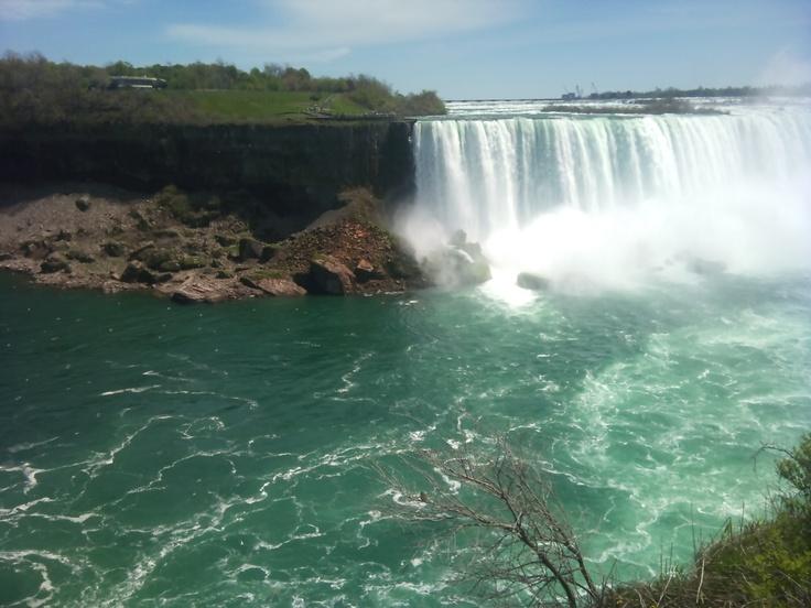 The beautiful Niagara Falls