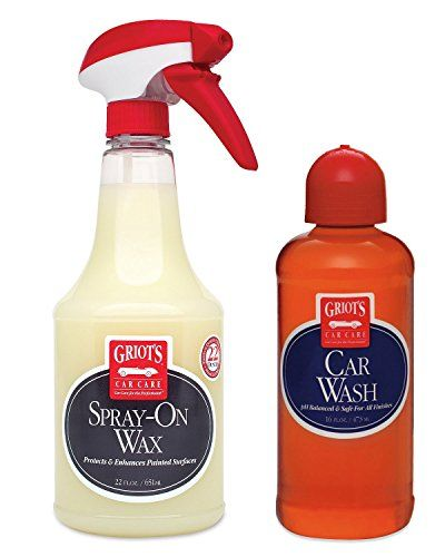 Griots Garage Car Wash  SprayOn Wax Combo Pack * Read more reviews of the product by visiting the affiliate link Amazon.com on the image.