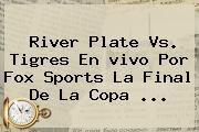 http://tecnoautos.com/wp-content/uploads/imagenes/tendencias/thumbs/river-plate-vs-tigres-en-vivo-por-fox-sports-la-final-de-la-copa.jpg Fox Sports En Vivo. River Plate vs. Tigres en vivo por Fox Sports la final de la Copa ..., Enlaces, Imágenes, Videos y Tweets - http://tecnoautos.com/actualidad/fox-sports-en-vivo-river-plate-vs-tigres-en-vivo-por-fox-sports-la-final-de-la-copa/