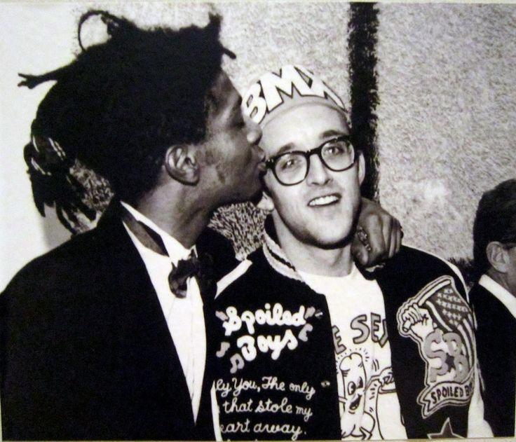 Keith Haring & Jean-Michel Basquiat (1987)