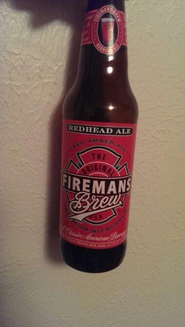 Redhead Ale, Fireman's Brew Inc, Woodland Hills, CA