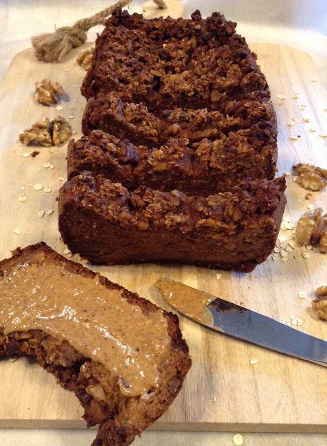 5c04dffdf Panelinha de Sabores: Bolo (pão americano) de batata doce e noz (saudáve