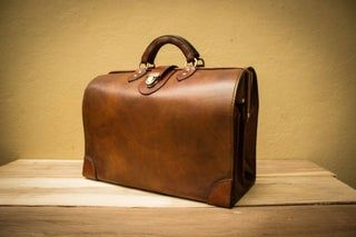 Photo of Leather MD Briefcase (Doctor's Bag)