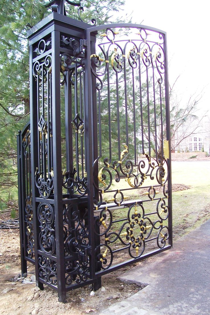 491 Best Images About Wrought Iron Gate On Pinterest
