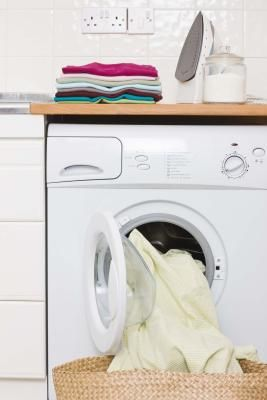 DIY: How To Properly Clean The Lint From A Front Facing Dryer - keeping your dryer vent clear is one of the most important things a homeowner can do! Not only does it greatly reduce the chances of having a fire, but it also helps to dry your clothes more quickly which saves on energy usage.