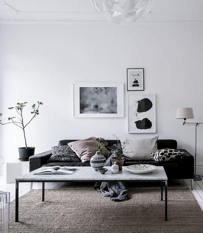 Black, white and nude - via Coco Lapine Design
