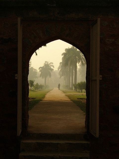 This is probably in the Lodi Gardens or Humayun's Tomb, Delhi, India.