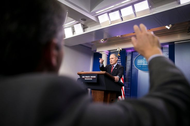 Climate Change Report vs. E.P.A. Chief. After 13 agencies reported on the definite reality of climate change and that it is caused by people, the Chief publicly said the opposite.