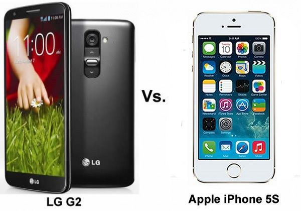 LG G2 claims to beat Iphone 5s, is this smartphone battle for real?