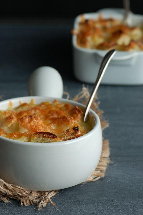 Oignon soup / Soupe à l'oignon gratinée