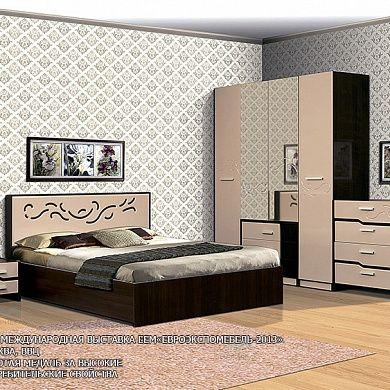 Спальня Милана-2 купить в Екатеринбурге | Мебелька