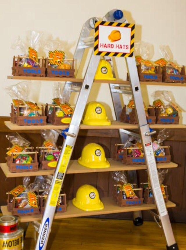 Construction party idea