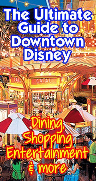 For Disneyland: guide to everything in Downtown Disney at Disneyland Resort. Restaurants (with menus and hours of operation), shopping, entertainment, and the best breakfast picks at DTD. Map included!