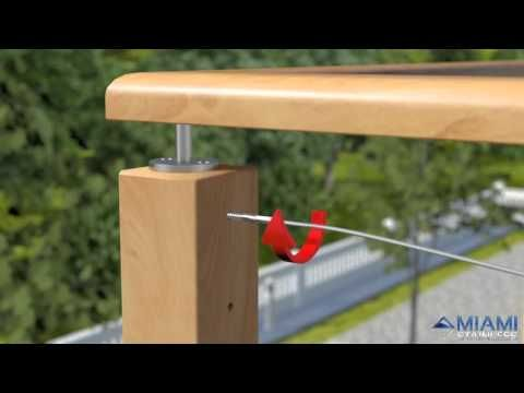 How To Install Wire Balustrade - Lag Screw Swage System