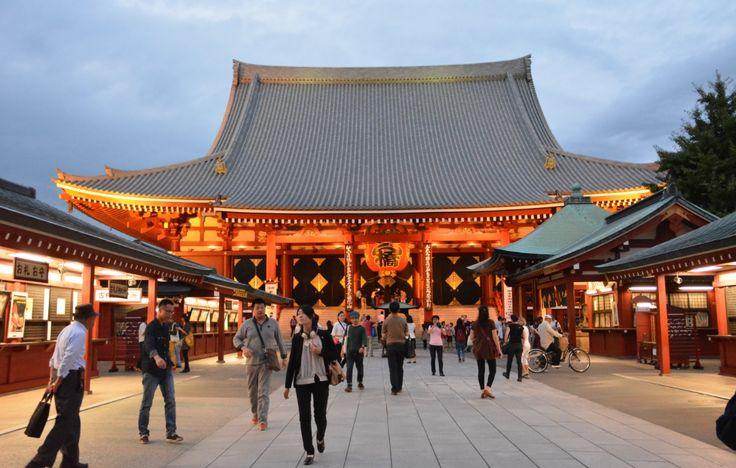 Bild der Woche: Sensō-ji Tempel in Asakusa - http://sumikai.com/bild-der-woche/bild-der-woche-senso-ji-tempel-in-asakusa-134119/