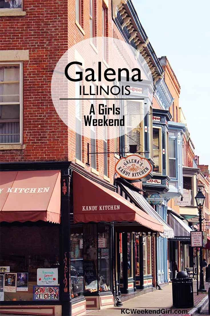 Galena, Illinois is a great place to travel with your friends! www.kcweekendgirl.com http://www.kcweekendgirl.com/girls-weekend-galena-illinois/