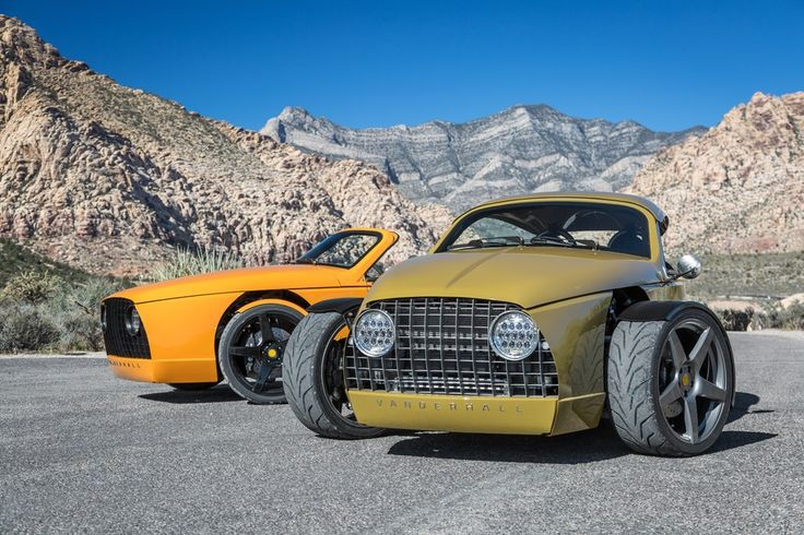 Awesome Luxury Vanderhall Laguna Three Wheeler Roadster