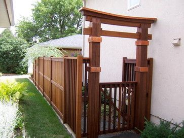 Asian Landscape fences Design Ideas, Pictures, Remodel and Decor