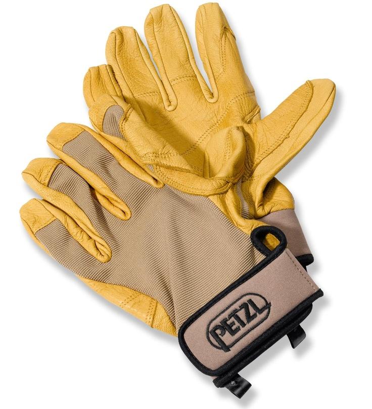 Protection + Maximum Dexterity — Petzl Cordex Lightweight Belay Gloves