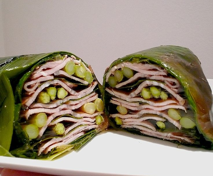 """""""Calf meat in aspic with asparagus"""" - Attack of the monster maki roll!"""