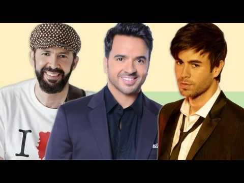 Luis Fonsi, Enrique Iglesias, Juan Luis Guerra  EXITOS SUS MEJORES CANCIONES - Romanticas En Español - YouTube