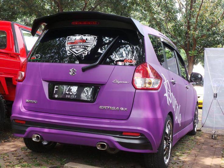 Suzuki Ertiga Purple, dari komunitas ERCI. Ertiga Club Indonesia. #suzukisolo #modifikasisuzuki #berrysuzuki
