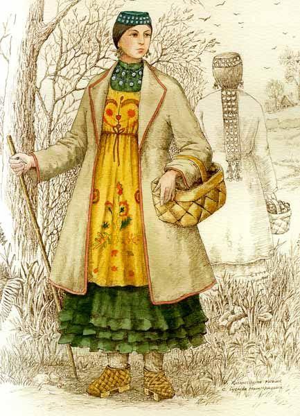 """""""Tatar woman"""" artist Damir Zalyaletdinov"""