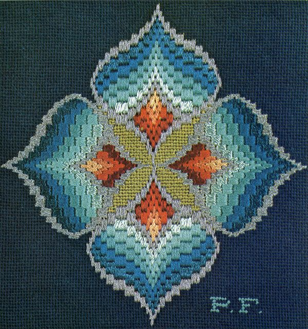 Bargello magic (not sure if I could actually make this, but one can wish!)
