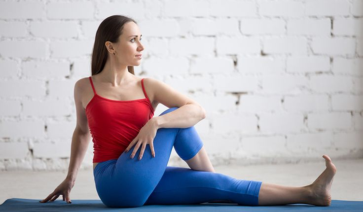 Half Spinal Twist Upper, Middle, and Lower Back Pain Relief