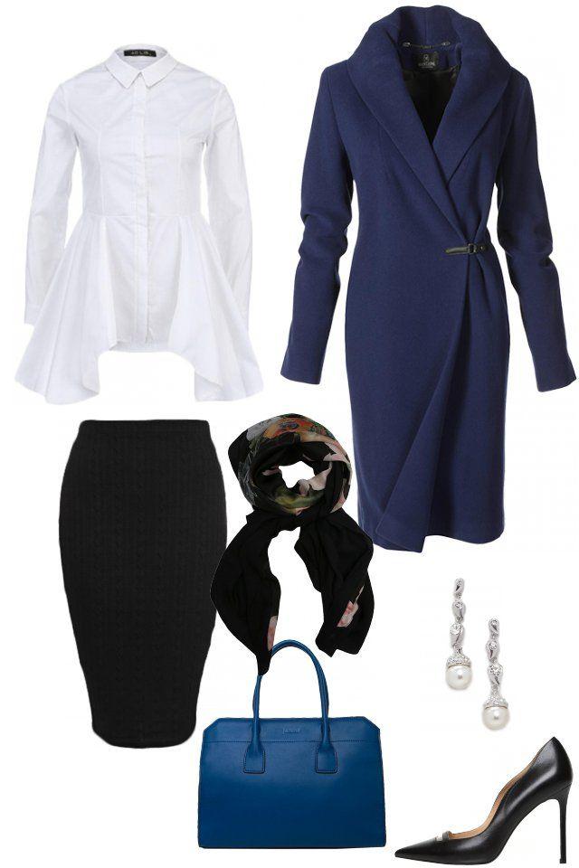 Обувь Mascotte Пальто MADELEAINE Рубашка Ad Lib Юбка AX Paris Сумка JEMMA Платок Ted Baker Серьги ICE