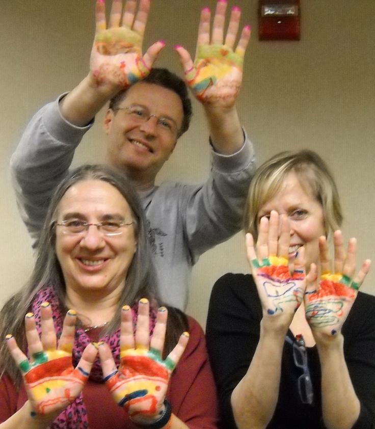 Hand Reflexology Happy Hand Reflexology Artists. www.AmericanAcademyofReflexology.com