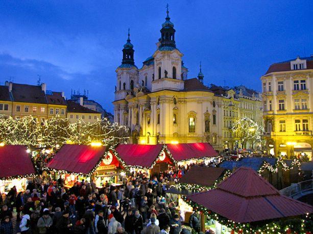 Mercadillos de Navidad por Europa