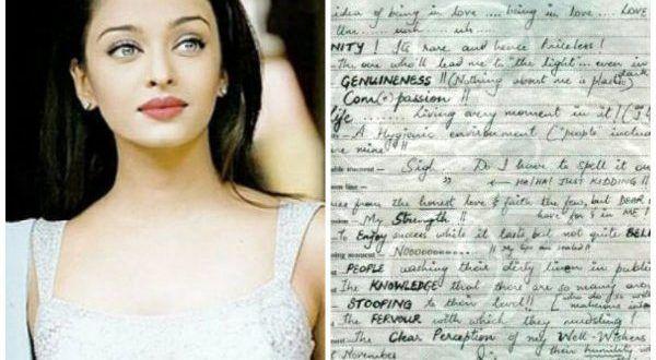 Aishwarya Slam Book Page Goes Viral | ETViewers