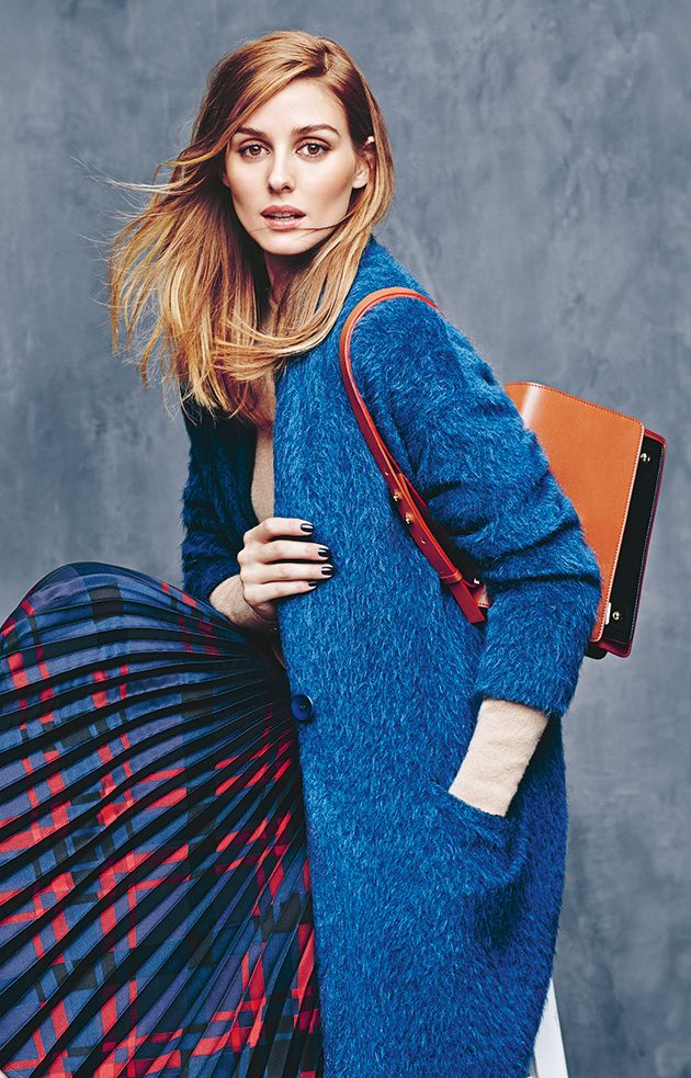 MAX&Co. A/W 2015 Campaign featuring Olivia Palermo wearing the CORALLO mohair Knitcoat. Ph. Erik Torstensson, styling Tom van Dorpe.