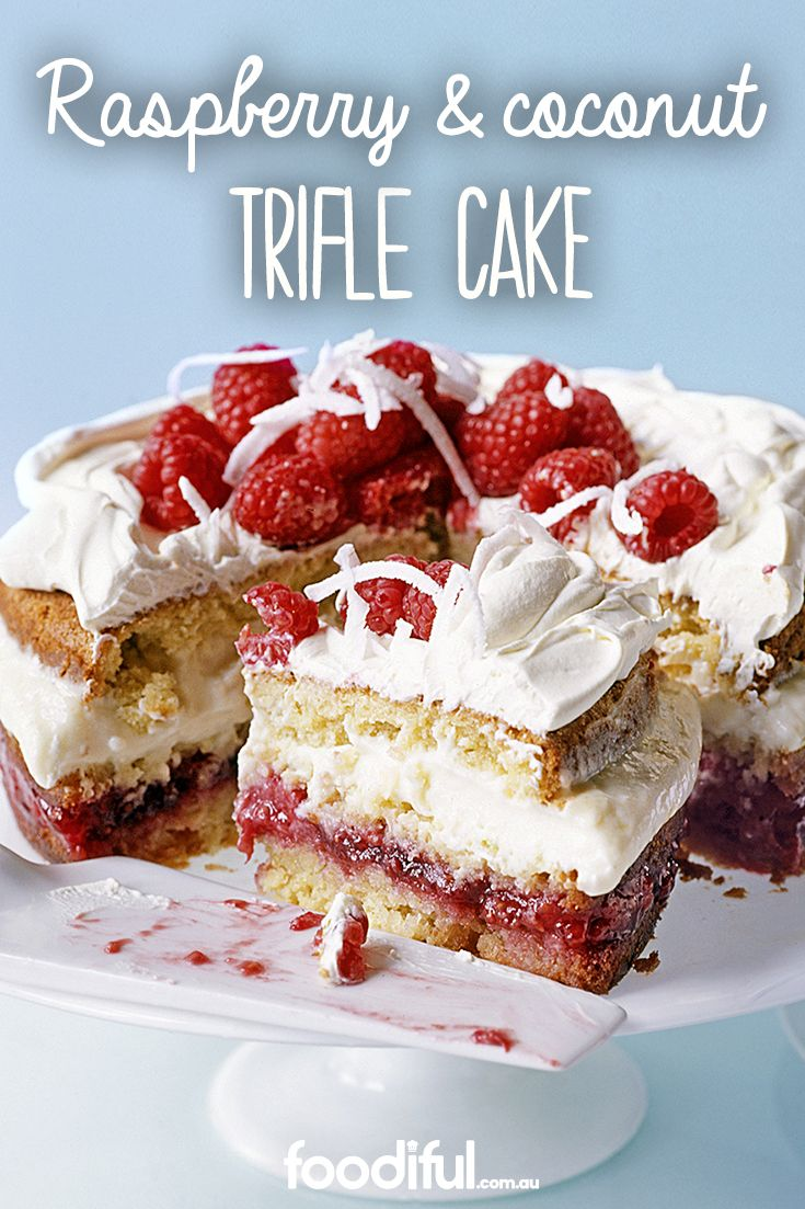 This tropical trifle will have Mum feeling like she's on an island holiday (at least for the time she's eating her slice). With a vanilla, raspberry jam and white rum custard filling, and moist coconut flakes, this cake recipe is a treat. It serves 12 people and takes 5 hrs and 35 mins in total.
