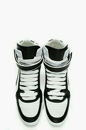 White &black