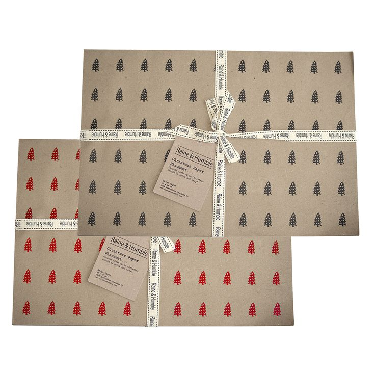 Christmas Tree Paper #Placemats #paperplacemats