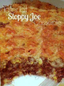 Tater Tot Sloppy Joe Tater Tot Sloppy Joe Casserole  ...  Tater Tot Sloppy Joe Tater Tot Sloppy Joe Casserole   RecipeLion.com Recipe : http://ift.tt/1hGiZgA And @ItsNutella  http://ift.tt/2v8iUYW