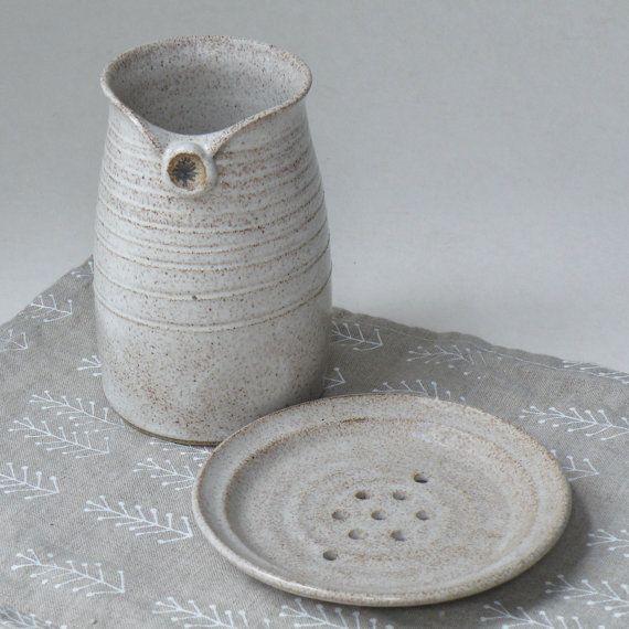 Bath and Beauty Pottery Set
